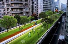 Idea progetto del Parco - Minhocão