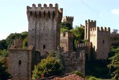 Il Castello d'Este, le mura (fonte: www.padovamedievale.it)