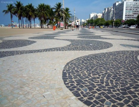 copacabana calçada
