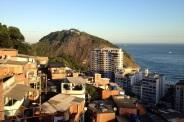 vista dall'Ostello Abraço Carioca (foto: Anna Luciani)