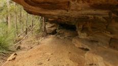 pitture rupestri nella caverna (foto: Anna Luciani)