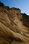 la spiaggia segreta - la scogliera (foto: Anna Luciani)