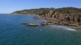Cape Byron e Wategos Beach (Immagine estratta da una ripresa aerea con drone. Video e Foto: Simone Chiesa)
