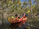 Brunswick River, David e Mattia in mezzo alle mangrovie (foto: Anna Luciani)