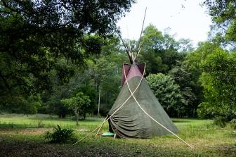 tenda teepee (foto: Anna Luciani)