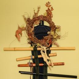 Gli strumenti musicali a casa di Jesse (foto: Anna Luciani)
