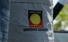 i colori della bandiera aborigena (foto: Anna Luciani)