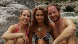 Simone, Anita (figlia di Mark) e io