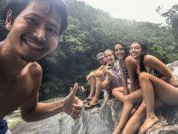 Naomo, Bella, Clara, io e Simone (foto: Naomo Takemoto)