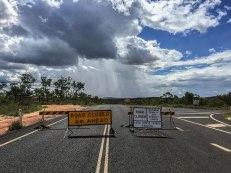 interruzione causa pioggia (foto: Anna Luciani)