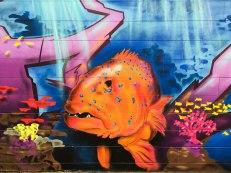 Airlie Beach, street art. Trota Corallo (foto: Anna Luciani)