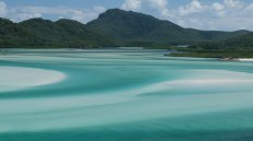 Whitsunday Island, vista da Hill Inlet Lookout (foto: Anna Luciani)