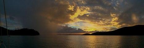 Hook Island al tramonto (foto: Anna Luciani)