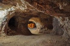 Coober Pedy. Vecchi miniere costruite con la dinamite. (foto: Anna Luciani)
