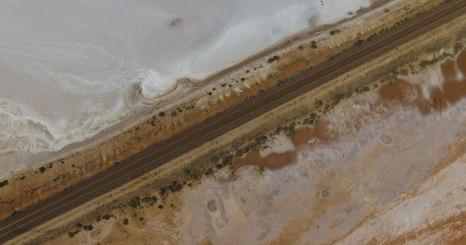 Lake Hart, immagine da drone (foto: Anna Luciani)