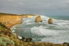 Dodici Apostoli...che 12 non sono mai stati. Faraglioni di circa 45 metri plasmati da mare e vento (foto: Anna Luciani)