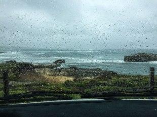 Il tempo non era dei migliori, ma anche così questa strada sa regalare paesaggi mozzafiato! (foto: Anna Luciani)