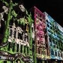 Le luci della White Night a Melbourne (foto: Anna Luciani)
