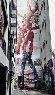 Street Art in Duckboard Place (foto: Anna Luciani)