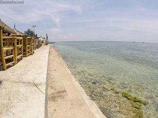 le spiagge a nord-est dell'isola (foto: Anna Luciani)