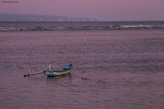 al tramonto sulla spiaggia di Sanur (foto: Anna Luciani)