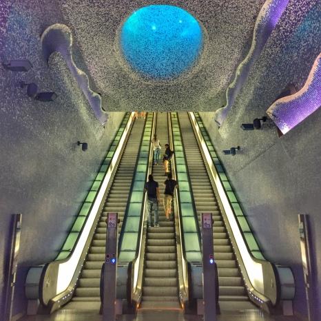 Stazione Toledo, Óscar Tusquets Blanca, Robert Wilson (foto: Anna Luciani)