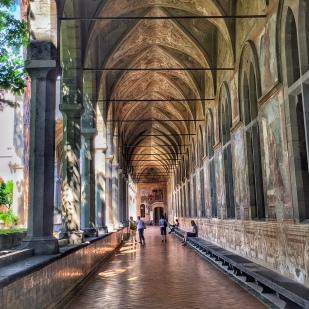 I chiostri di Santa Chiara (foto: Anna Luciani)