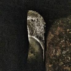 Napoli sotterranea. Alcuni cunicoli sono ancora pieni di acqua (foto: Anna Luciani)