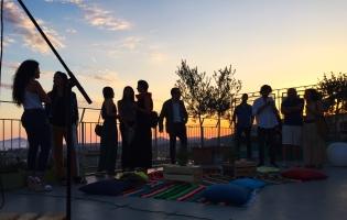 al tramonto sul tetto del mondo (foto: Anna Luciani)