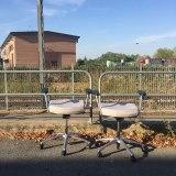 la desolazione. Il viaggio si blocca in partenza con una tappa nella periferia di Bologna il 17 agosto (foto: Anna Luciani)