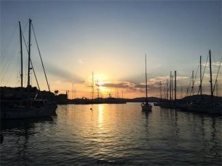 Alghero al tramonto (foto: Anna Luciani)