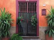 Bosa, il quartiere di Sa Costa, dettagli (foto: Anna Luciani)