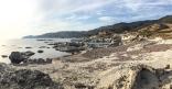 la lunare Spiaggia di Tentizzos (foto: Anna Luciani)