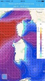 mappa di SeaConditions: immagini immediate, comprensibili e utilissime