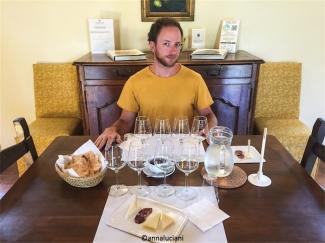 Wine Resort Leda' d'Ittiri, degustazione (foto: Anna Luciani)