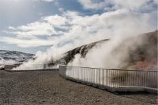 le sorgenti di acqua calda di Deildartunguhver (foto: Anna Luciani)