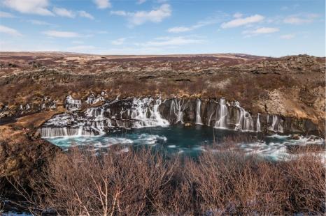 cascate Hraunfossar (foto: Anna Luciani)