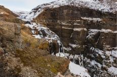 in cima della cascata Glymur (foto: Anna Luciani)