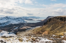 il paesaggio dalla cima della cascata Glymur (foto: Anna Luciani)