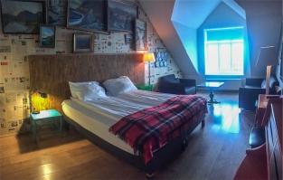 ok studio, uno degli posti più belli in cui abbiamo dormito grazie ad una super offerta booking, Reykjavik (foto: Anna luciani)