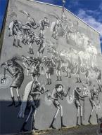 La street art colora e decora la città in ogni angolo (foto: Anna Luciani)