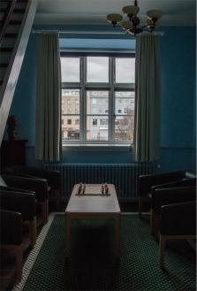 Alþingi, il Parlamento Islandese. Gli interni (foto: Anna Luciani)