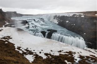 le cascate Gulfoss (foto: Anna Luciani)