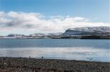 Alla scoperta dei paesaggi a nord della città con Bergthor, il nostro couch a Reykjavik (foto: Anna Luciani)