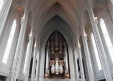 Hallgrimskirkja, l'organo (foto: Anna Luciani)