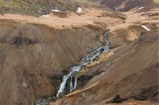 Alcune immagini della camminata per raggiungere il Reykjadalur Hot Spring Thermal River (foto: Anna Luciani)