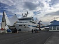 Herjólfur - ferry Vestmannaeyjar (foto: Anna Luciani)