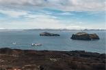 """il panorama verso """"la terra ferma""""/l'Isola grande (foto: Anna Luciani)"""