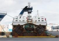 Il porto di Heimaey. Navi da pesca (foto: Anna Luciani)