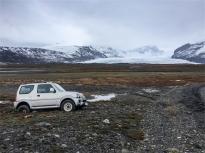 Skaftafells Glacier. I turisti quelli intellienti (foto: Anna Luciani)